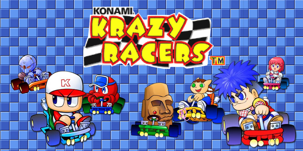Konami Krazy Racers Game Boy Advance Games Nintendo