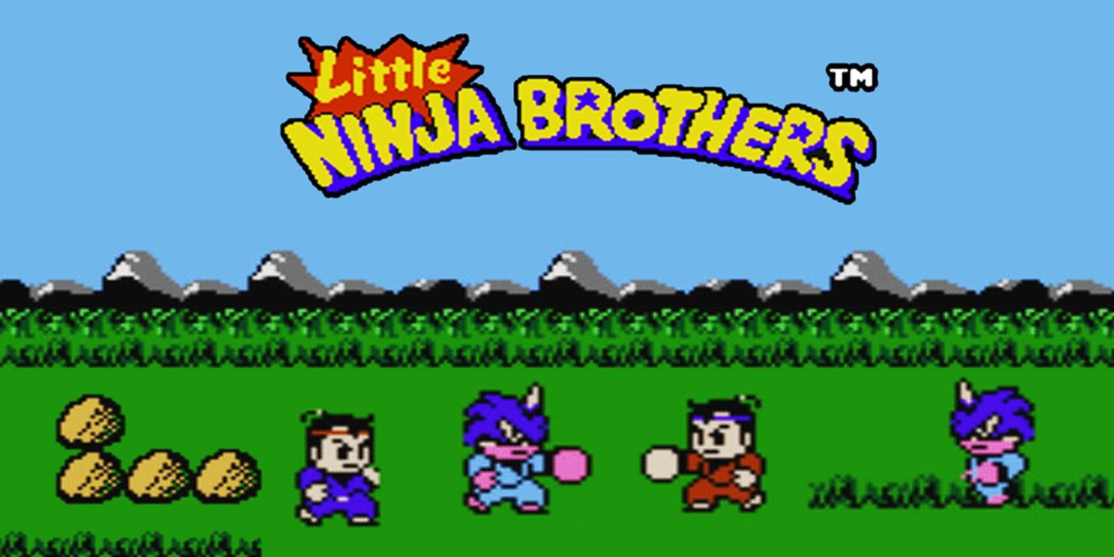 Little Ninja Brothers Nes Juegos Nintendo