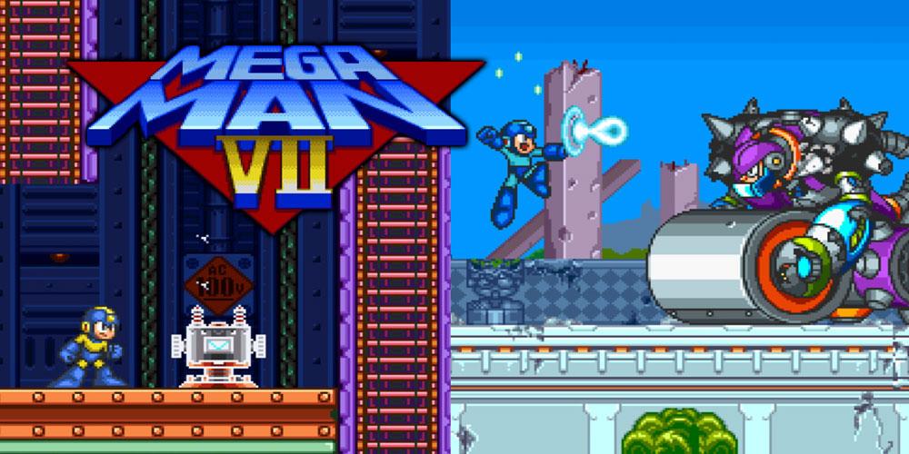 Mega man 7 super nintendo games nintendo - Megaman x virtual console ...