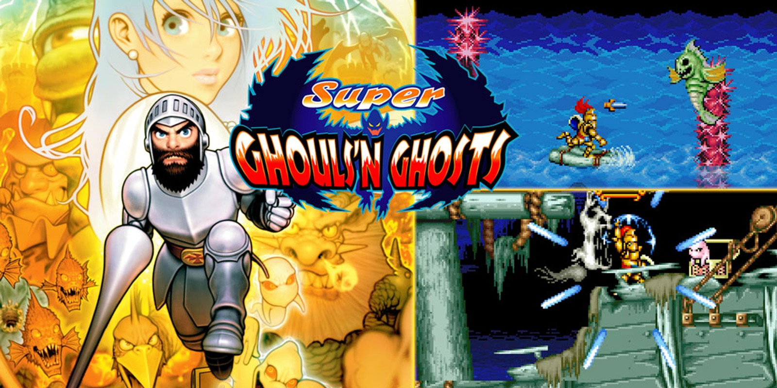 super ghouls and ghosts gba rom