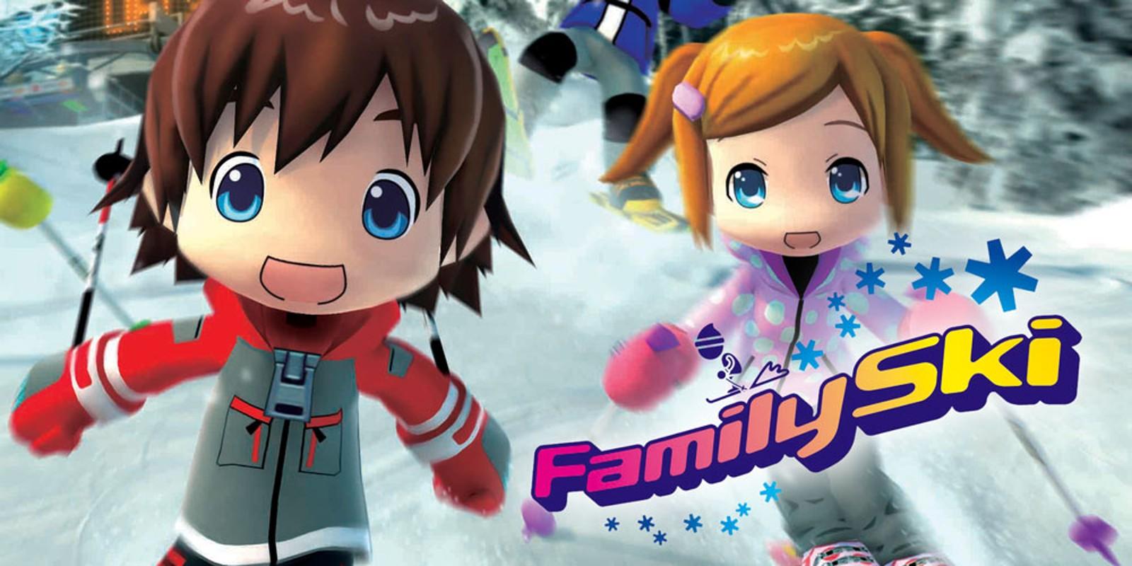 Family Ski   Wii   Spiele   Nintendo