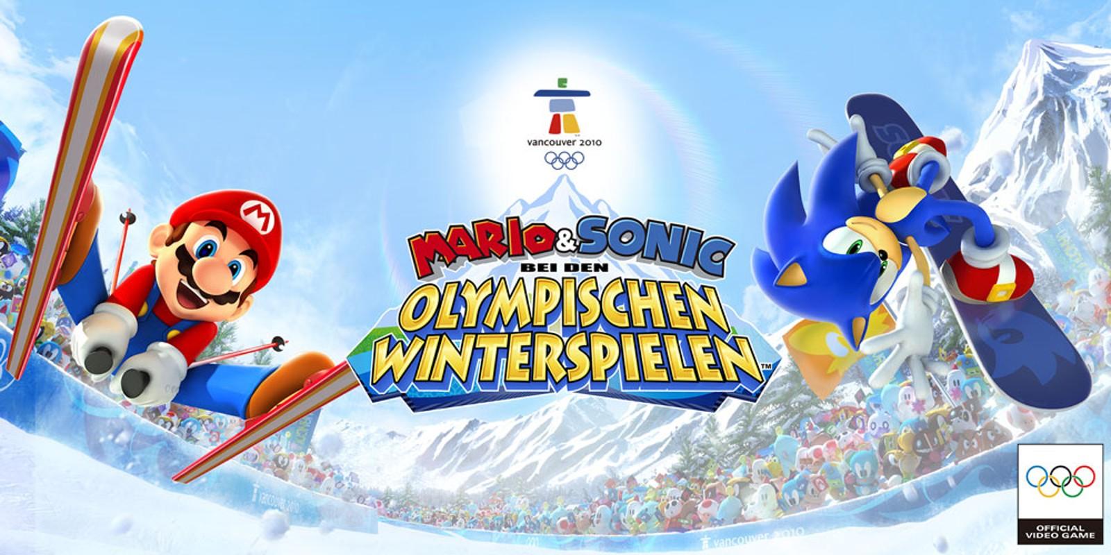 Mario Amp Sonic Bei Den Olympischen Winterspielen Wii