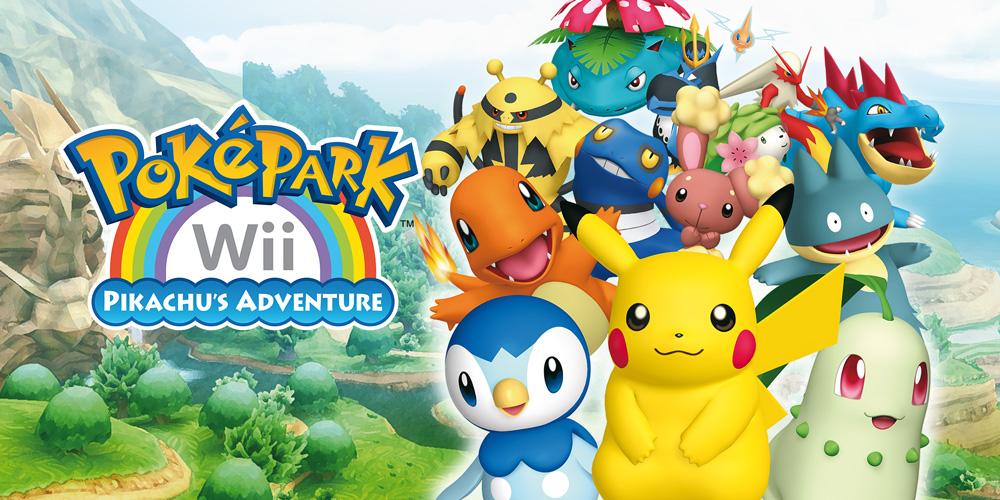 Pok 233 Park Wii Pikachu S Adventure Wii Games Nintendo
