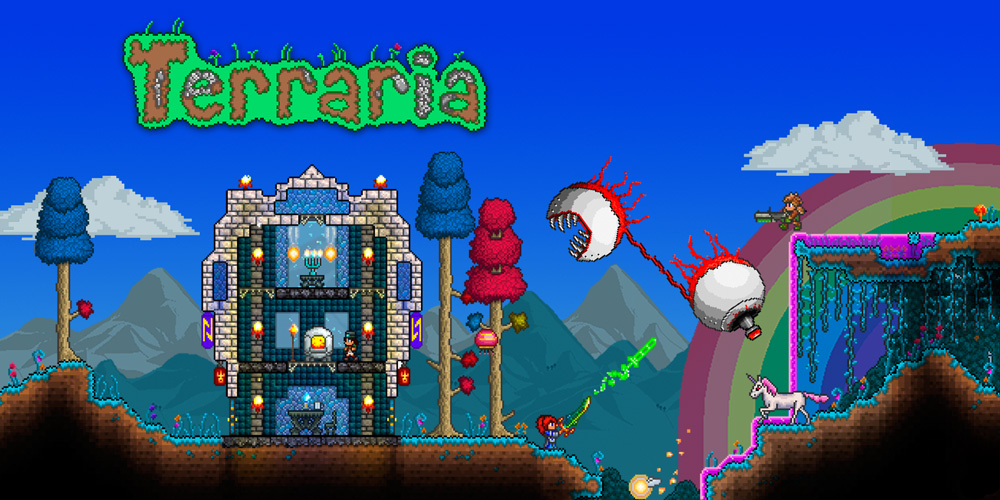 Hd wallpaper zelda - Terraria Nintendo 3ds Games Nintendo