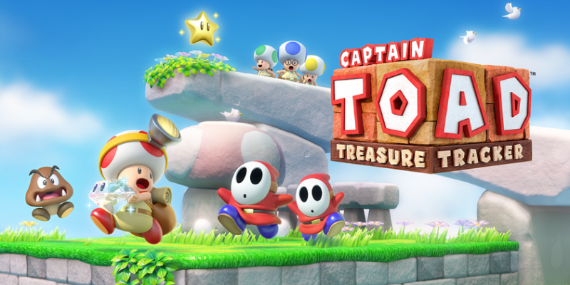 Captain Toad: Treasure Tracker***