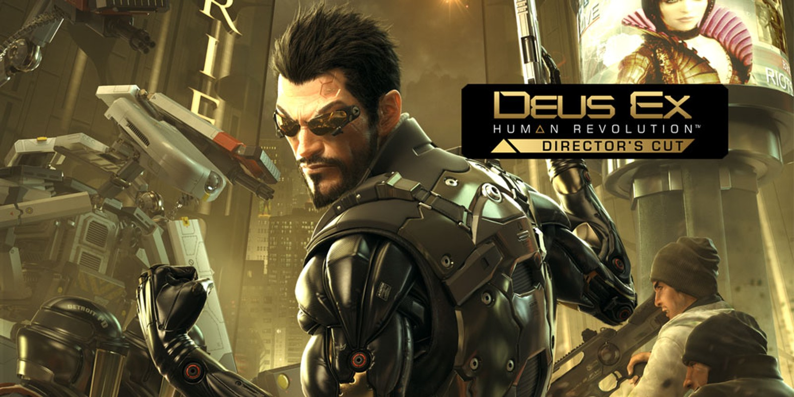 Deus Ex: Human Revolution – Director's Cut | Wii U | Games | Nintendo