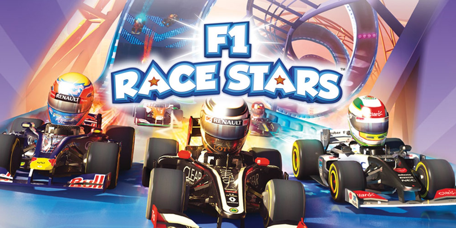 f1 race stars powered up edition wii u games nintendo. Black Bedroom Furniture Sets. Home Design Ideas