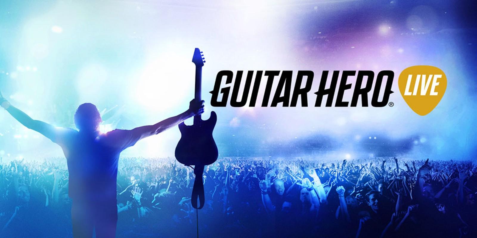 guitar hero live wii u games nintendo