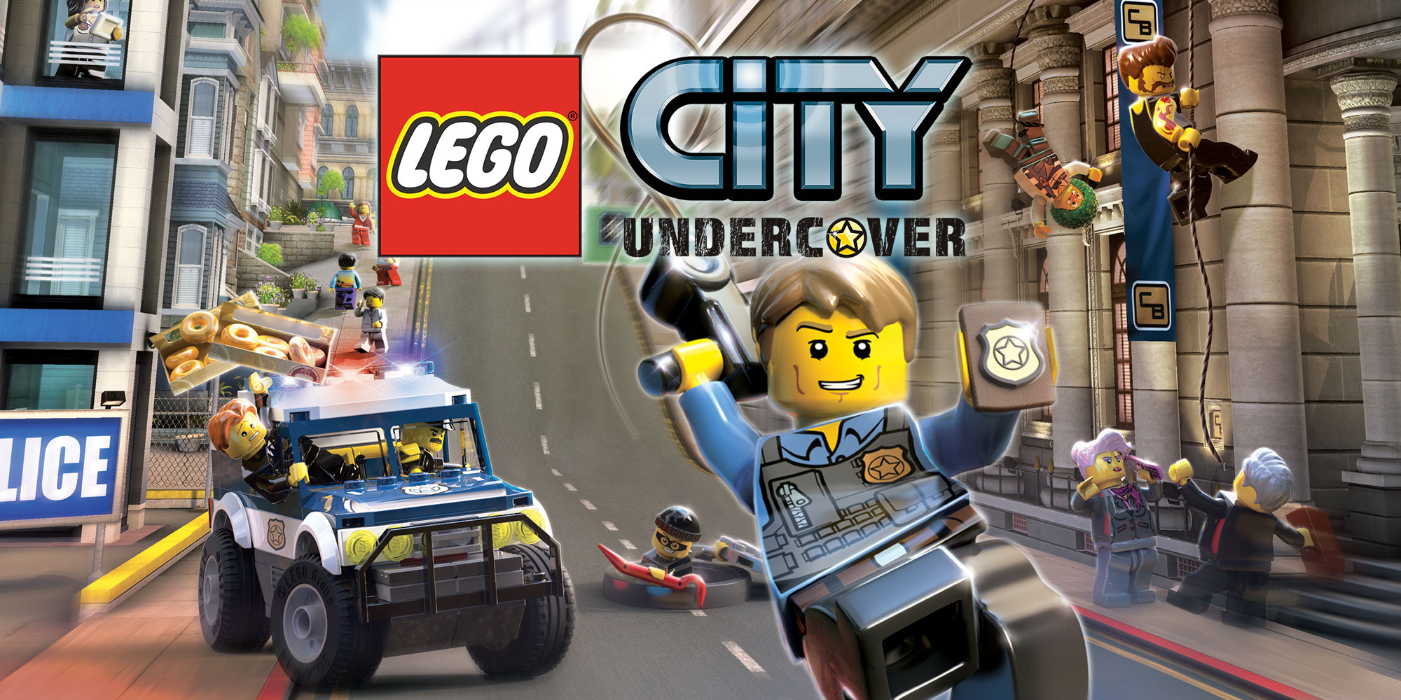 lego city undercover wii u games nintendo. Black Bedroom Furniture Sets. Home Design Ideas