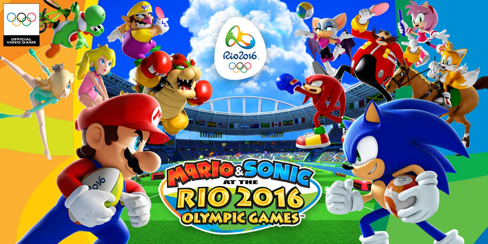 Mario sonic at the rio 2016 olympic games