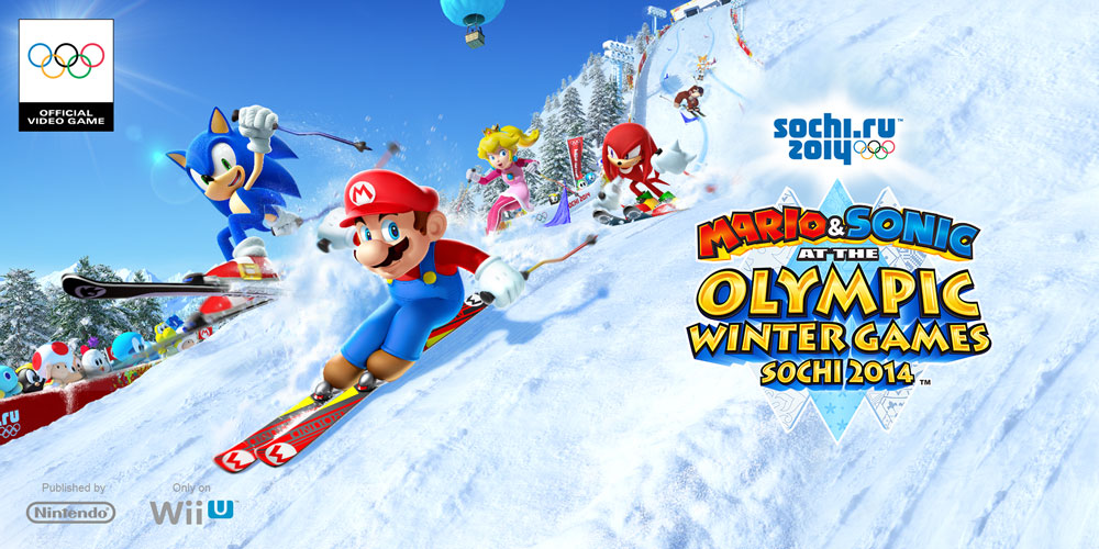 Mario Amp Sonic At The Sochi 2014 Olympic Winter Games Wii