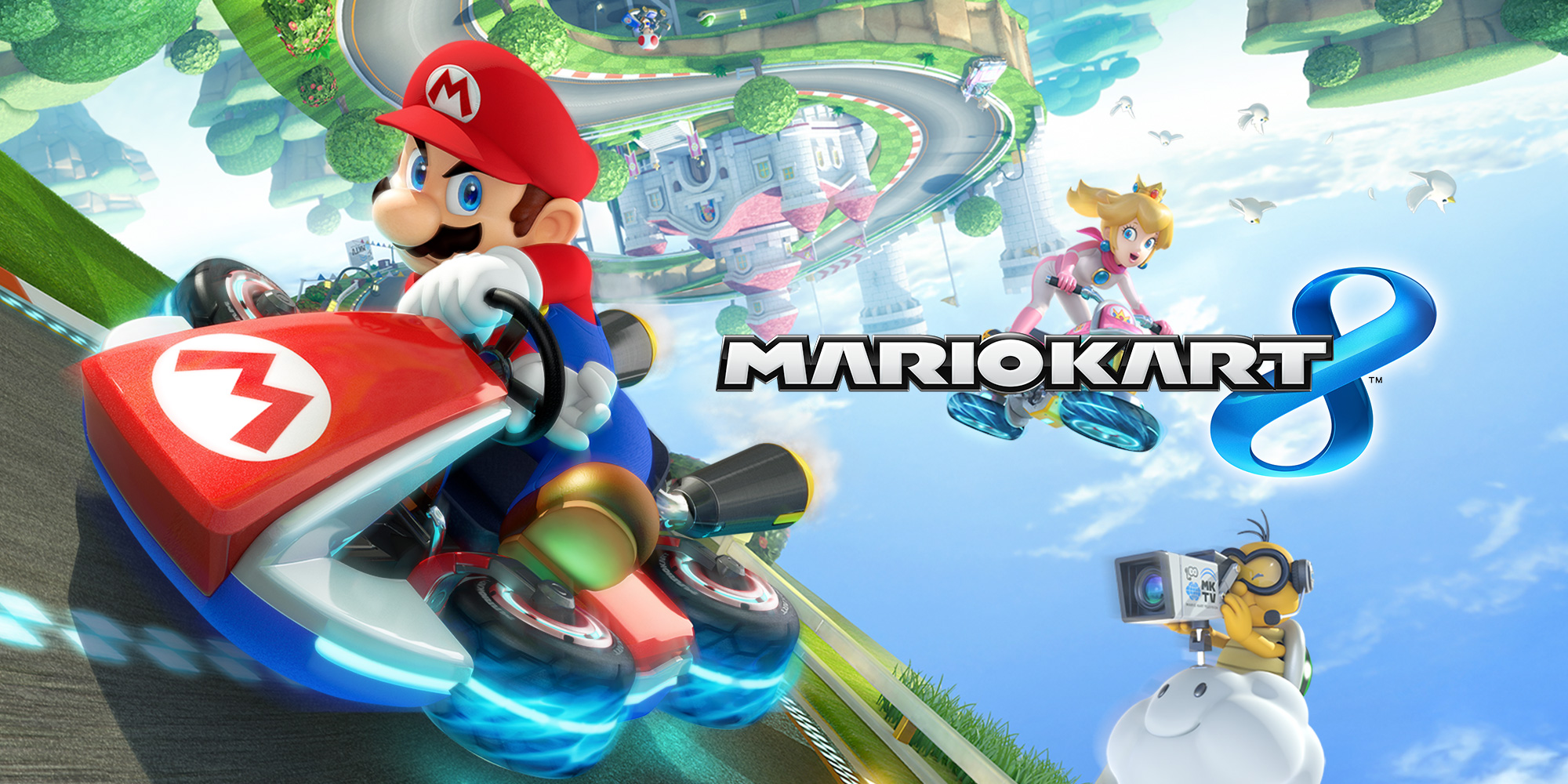 Nintendo adds three Mercedes-Benz cars and enhancements to Mario Kart 8 from 27th August