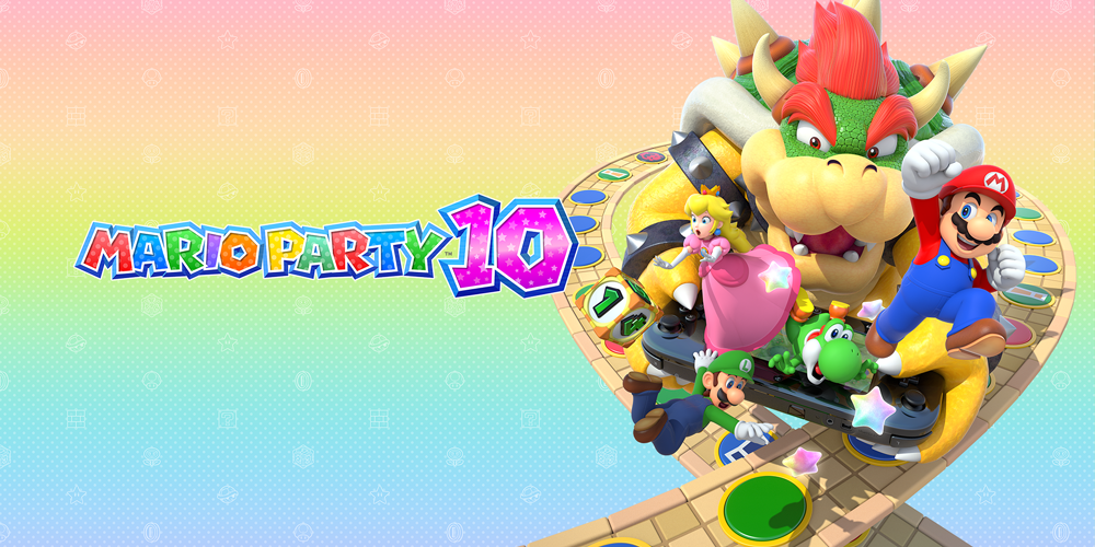 kleurplaten mario party 10