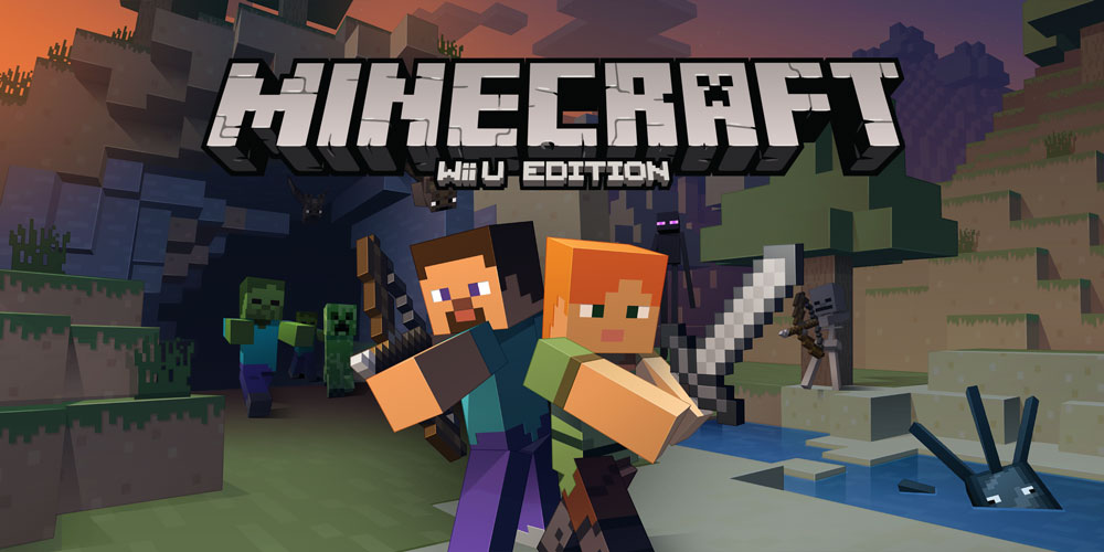 Minecraft Wii U Edition Wii U Download Software Games Nintendo - Minecraft explore spiele