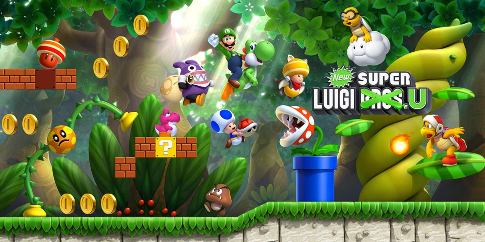 New Super Luigi U Wii U Juegos Nintendo