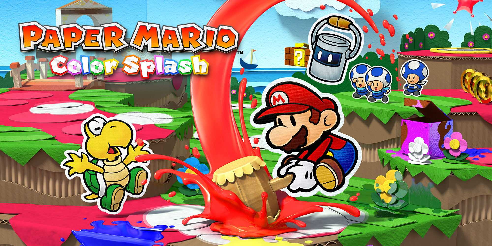 Brandneues zu Paper Mario: Color Splash auf Wii U!