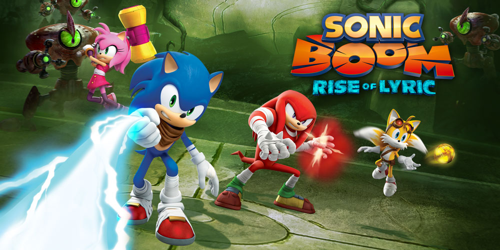 Sonic Boom Rise Of Lyric Wii U Games Nintendo
