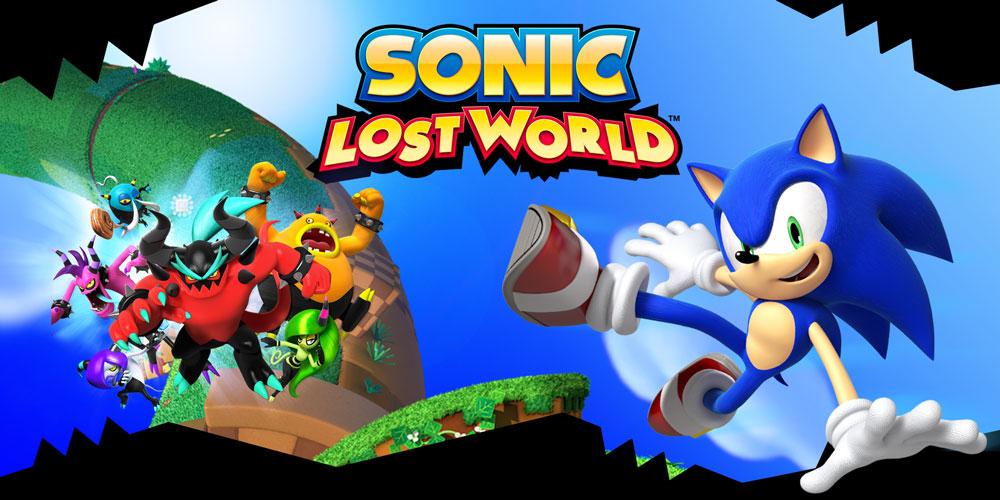 Sonic Lost World Nintendo 3ds Games Nintendo