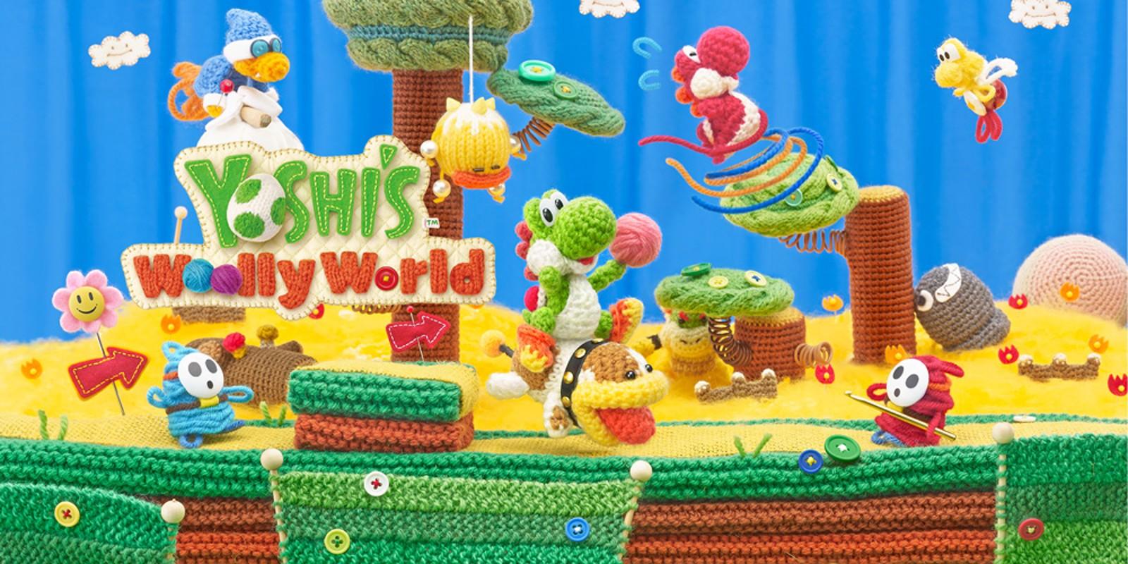 Yoshi's Woolly World | Wii U | Giochi | Nintendo