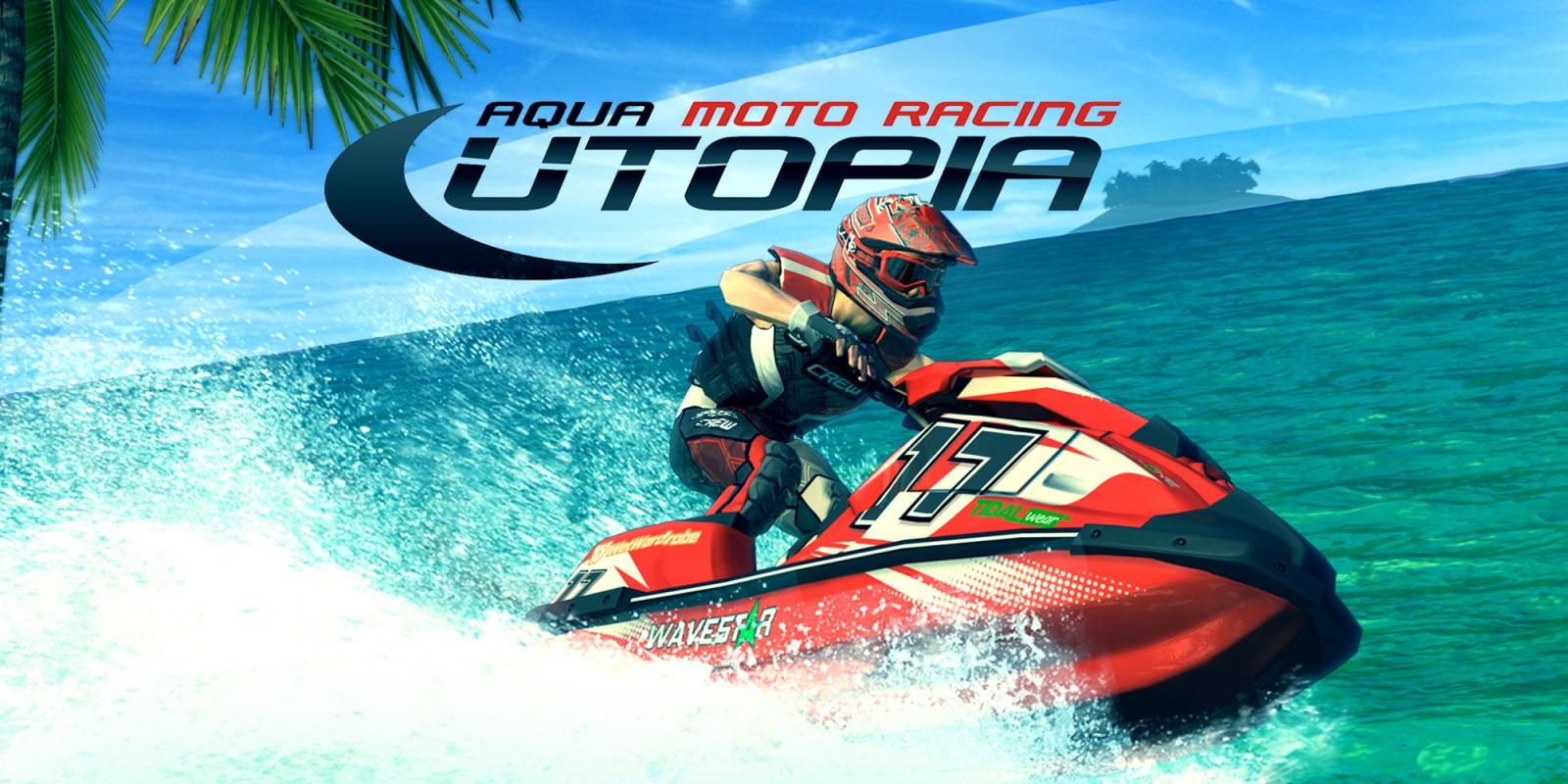 Resultado de imagen de Aqua Moto Racing Utopia Wii U