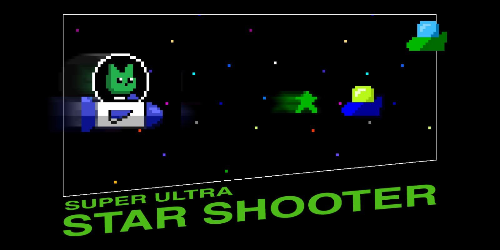 Wii U Downloadable Games : Super ultra star shooter wii u download software games