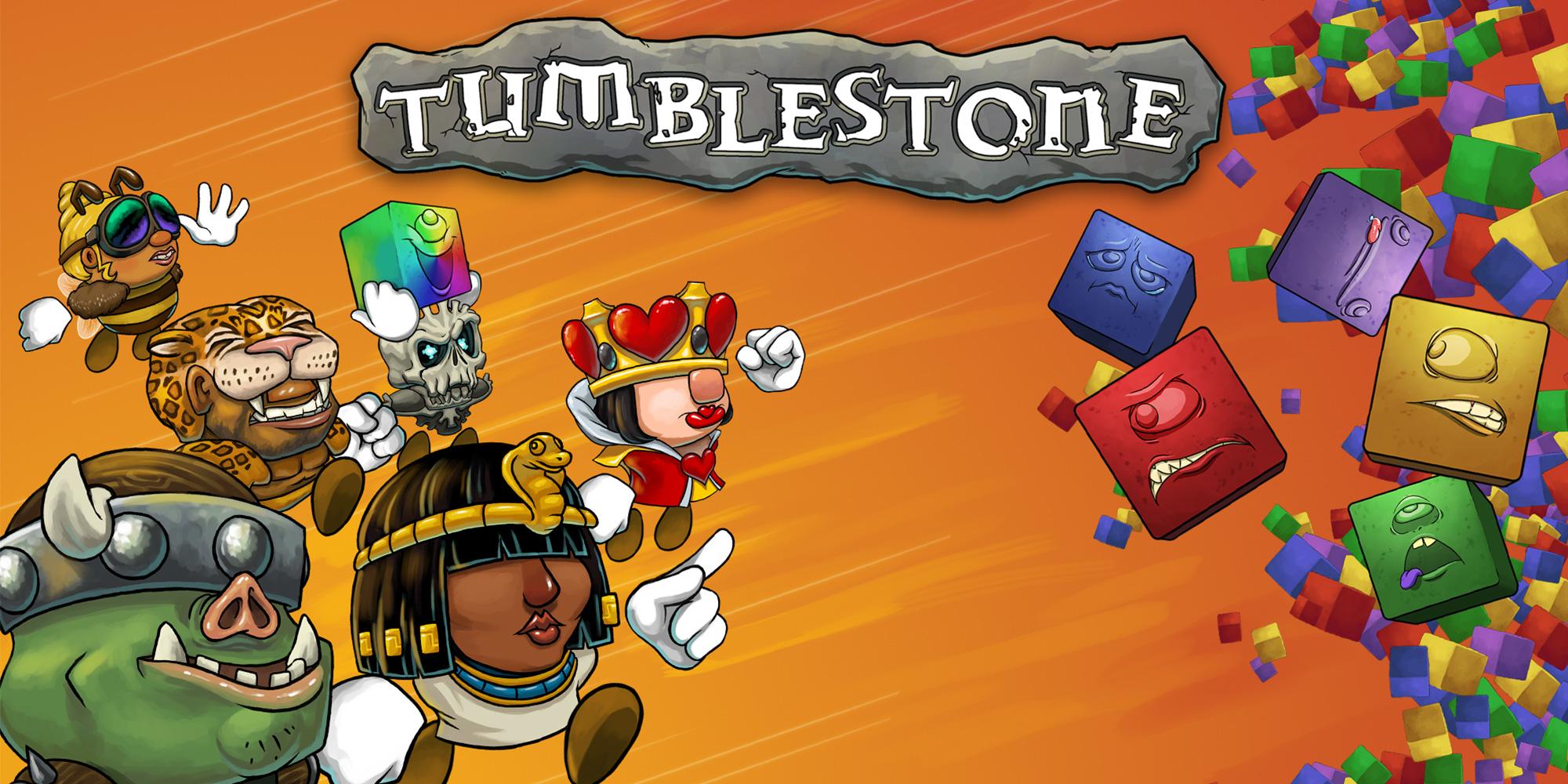 Wii U Downloadable Games : Tumblestone wii u download software games nintendo