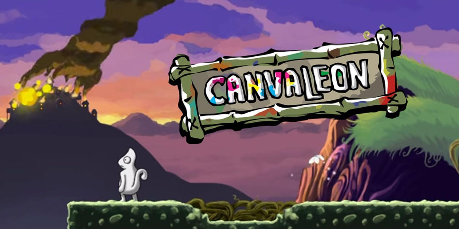 Wii U Downloadable Games : Canvaleon wii u download software games nintendo