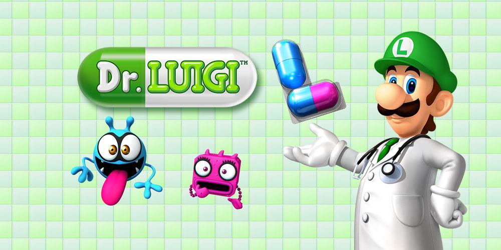 Wii U Downloadable Games : Dr luigi wii u download software games nintendo