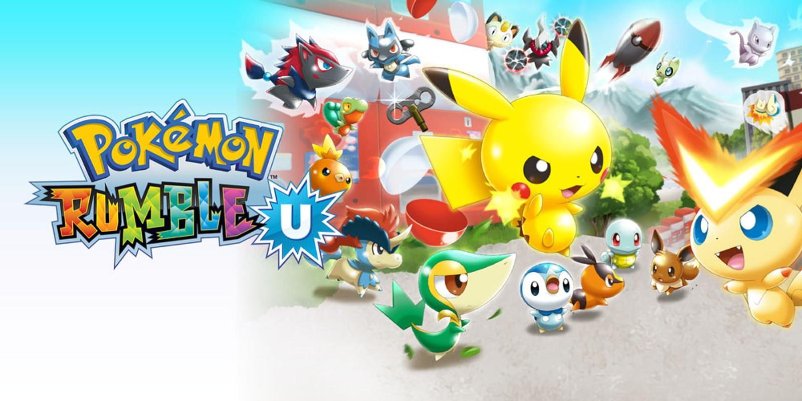 Pokemon Rumble U Programas Descargables Wii U Juegos Nintendo