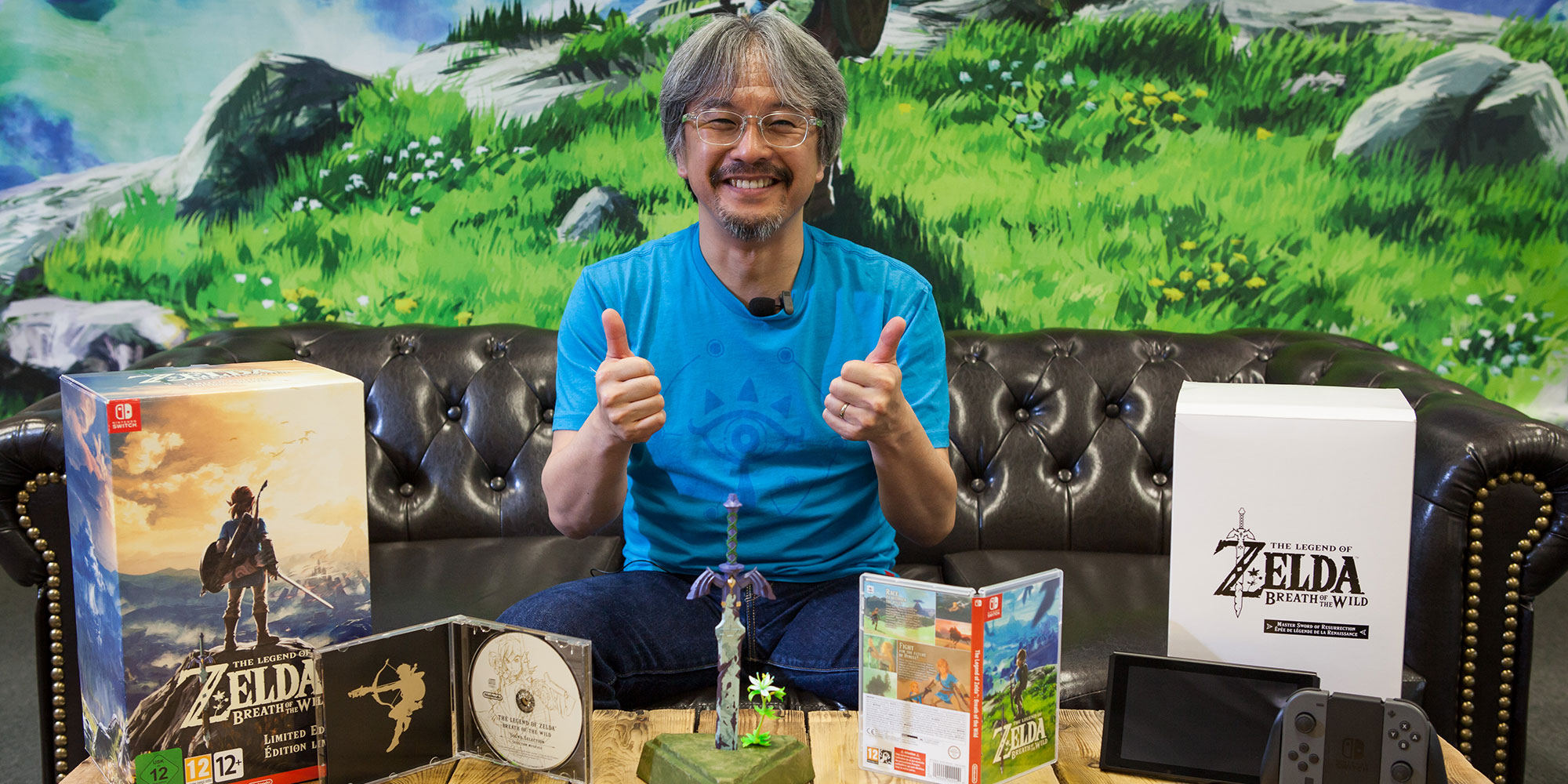 Eiji Aonuma presents The Legend of Zelda: Breath of the Wild Limited Edition