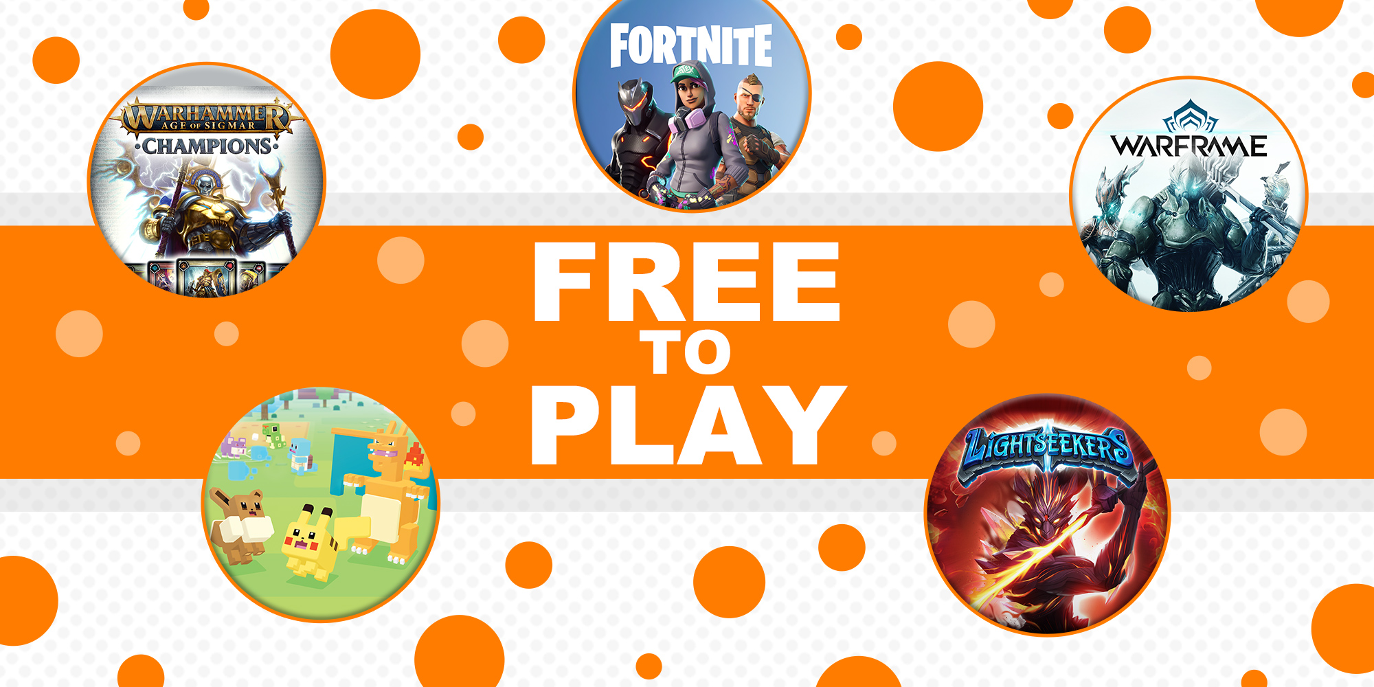 Play for free with this selection of free-to-play games!