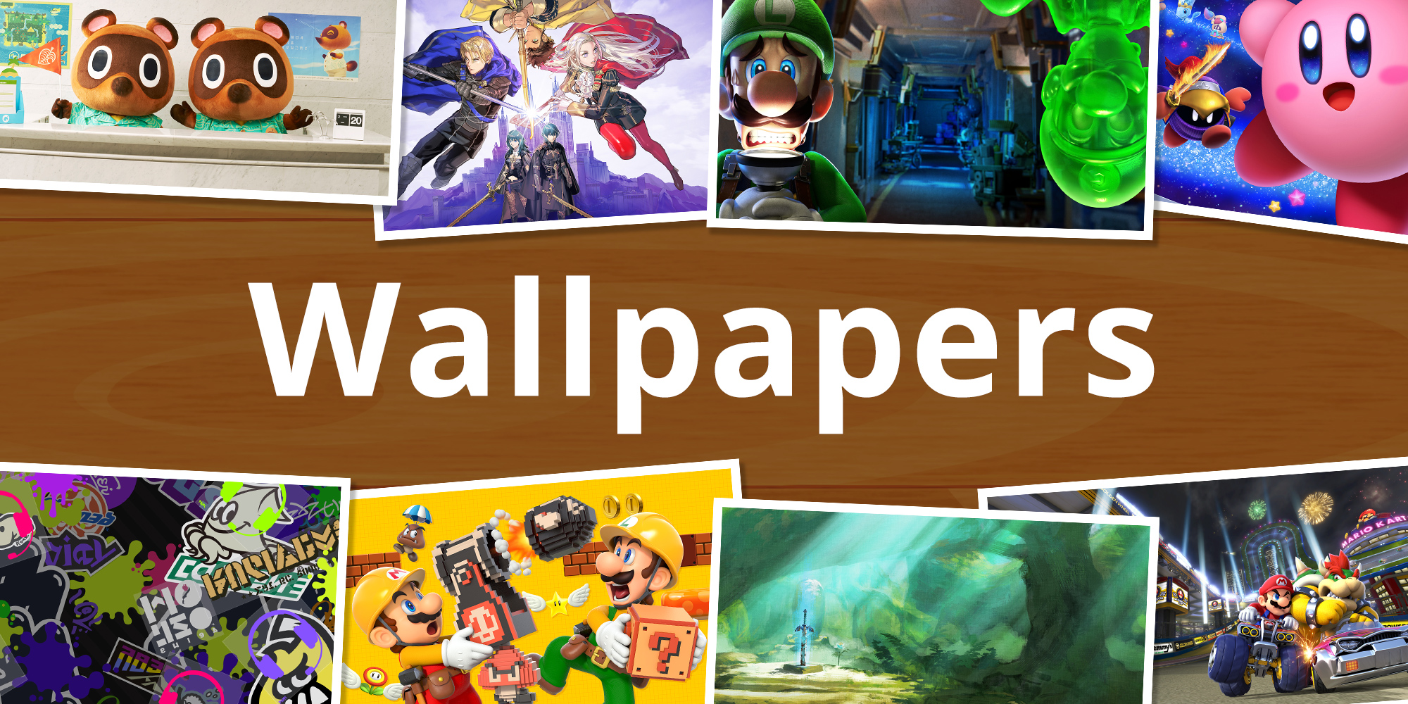 Decorate Your Desktop With These Nintendo Wallpapers News Nintendo