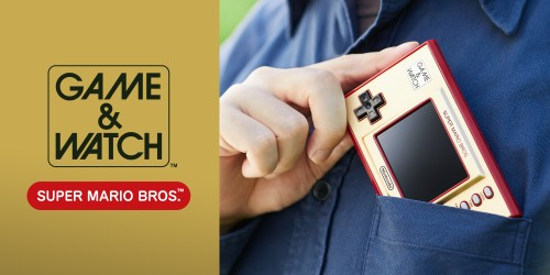 ¡Seis secretos sobre la consola Game & Watch: Super Mario Bros.!