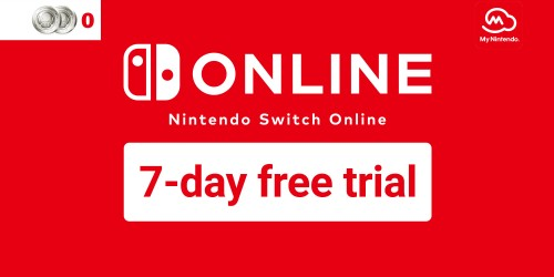 Get a Nintendo Switch Online 7-day free trial with My Nintendo!