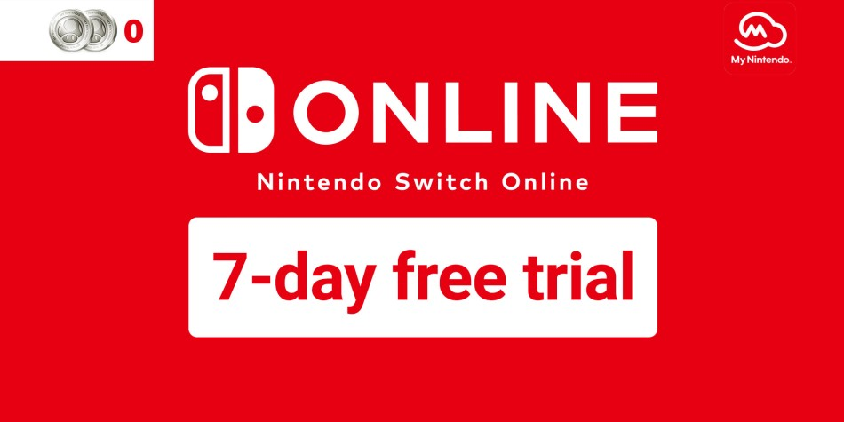 Get A Nintendo Switch Online 7 Day Free Trial With My Nintendo News Nintendo