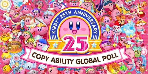 Kirby 25th Anniversary Copy Ability Global Poll