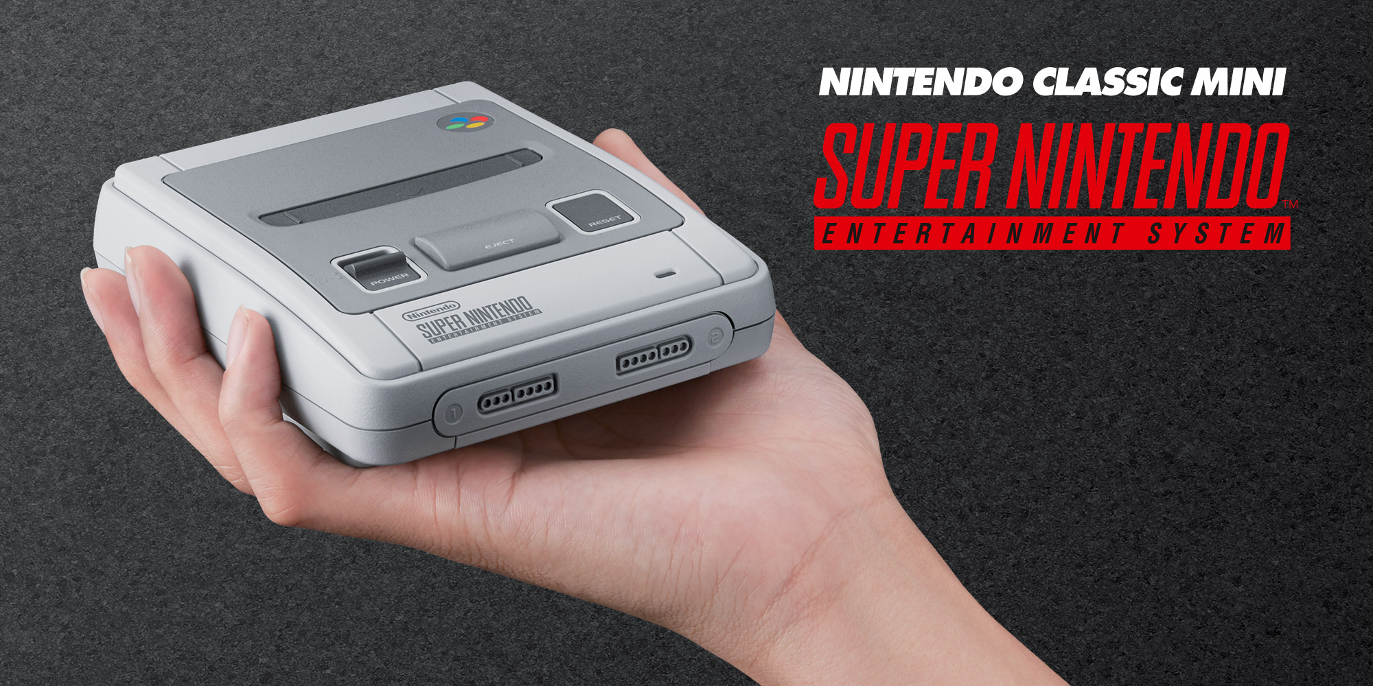 Nintendo announces the Nintendo Classic Mini: Super Nintendo Entertainment System