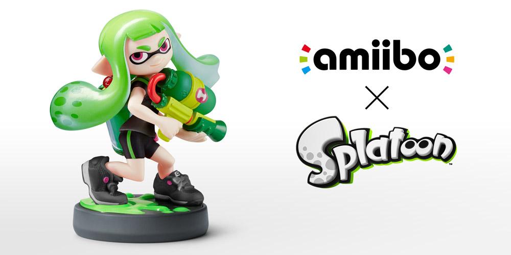 Inkling Girl Lime Green Splatoon Collection Nintendo