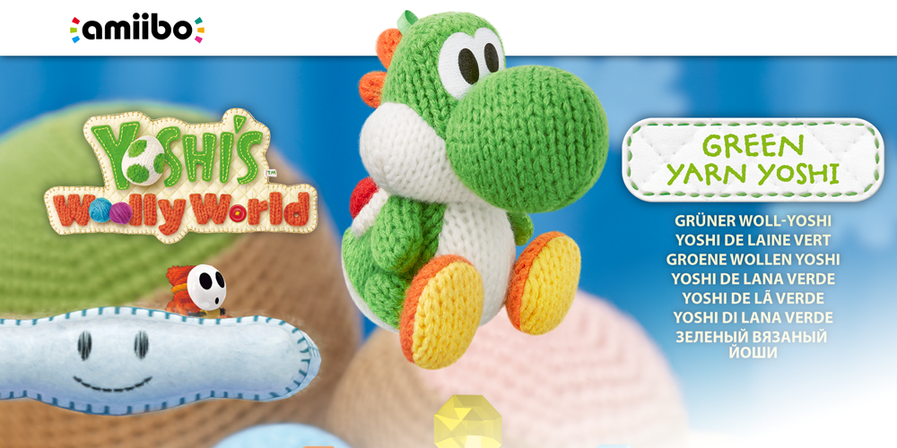 Yoshi Woolly World 3DS Trailer  YouTube