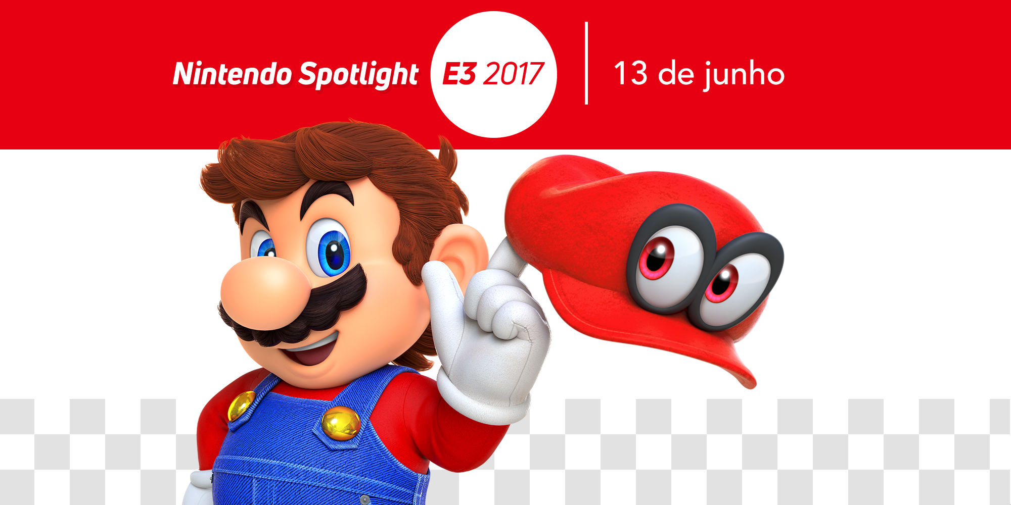 Site oficial da E3 2017 da Nintendo of Europe