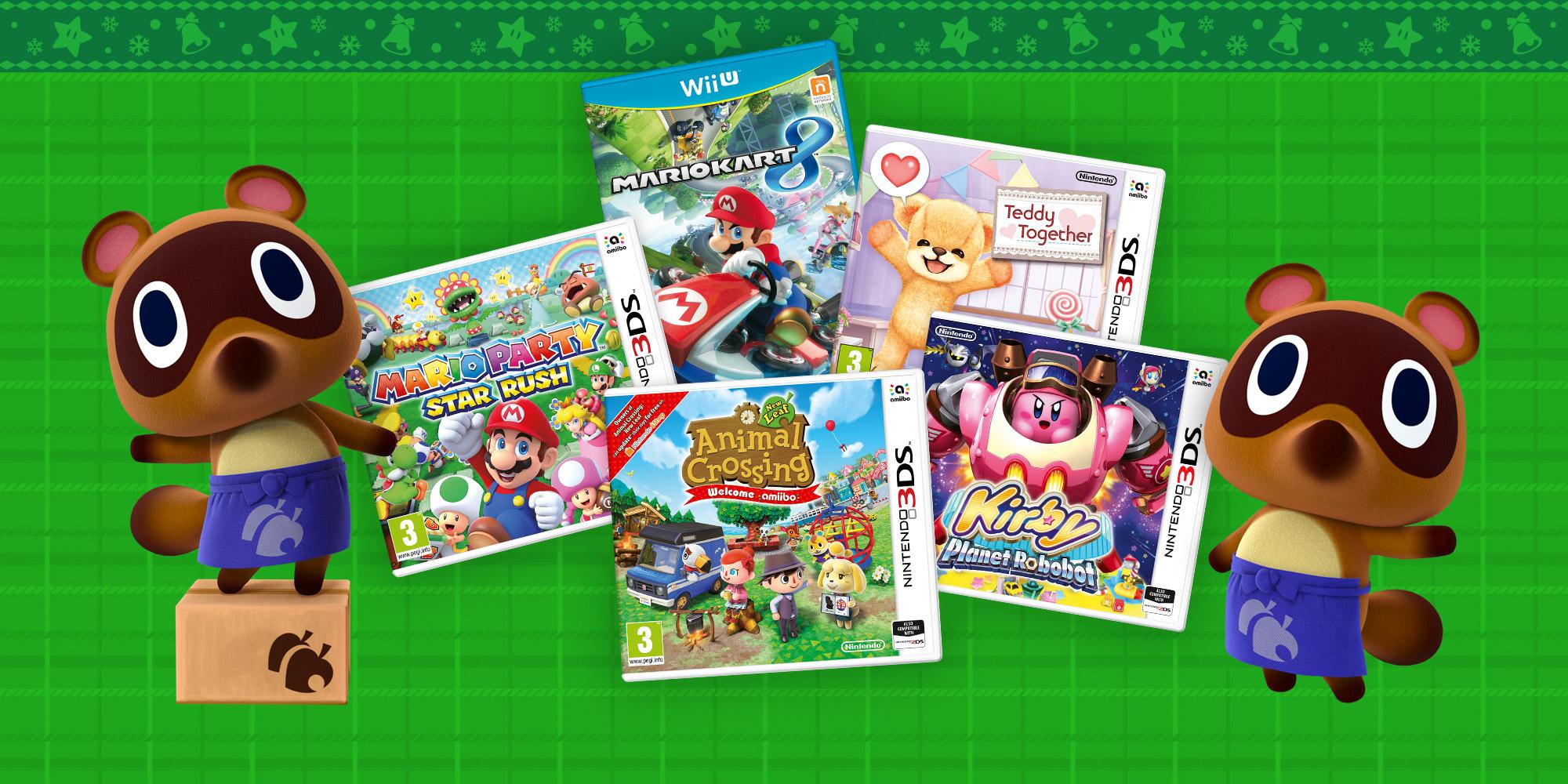 Guida Ai Regali Di Natale.Guida Ai Regali Di Natale Tanti Giochi Per Tutti Notizie Nintendo