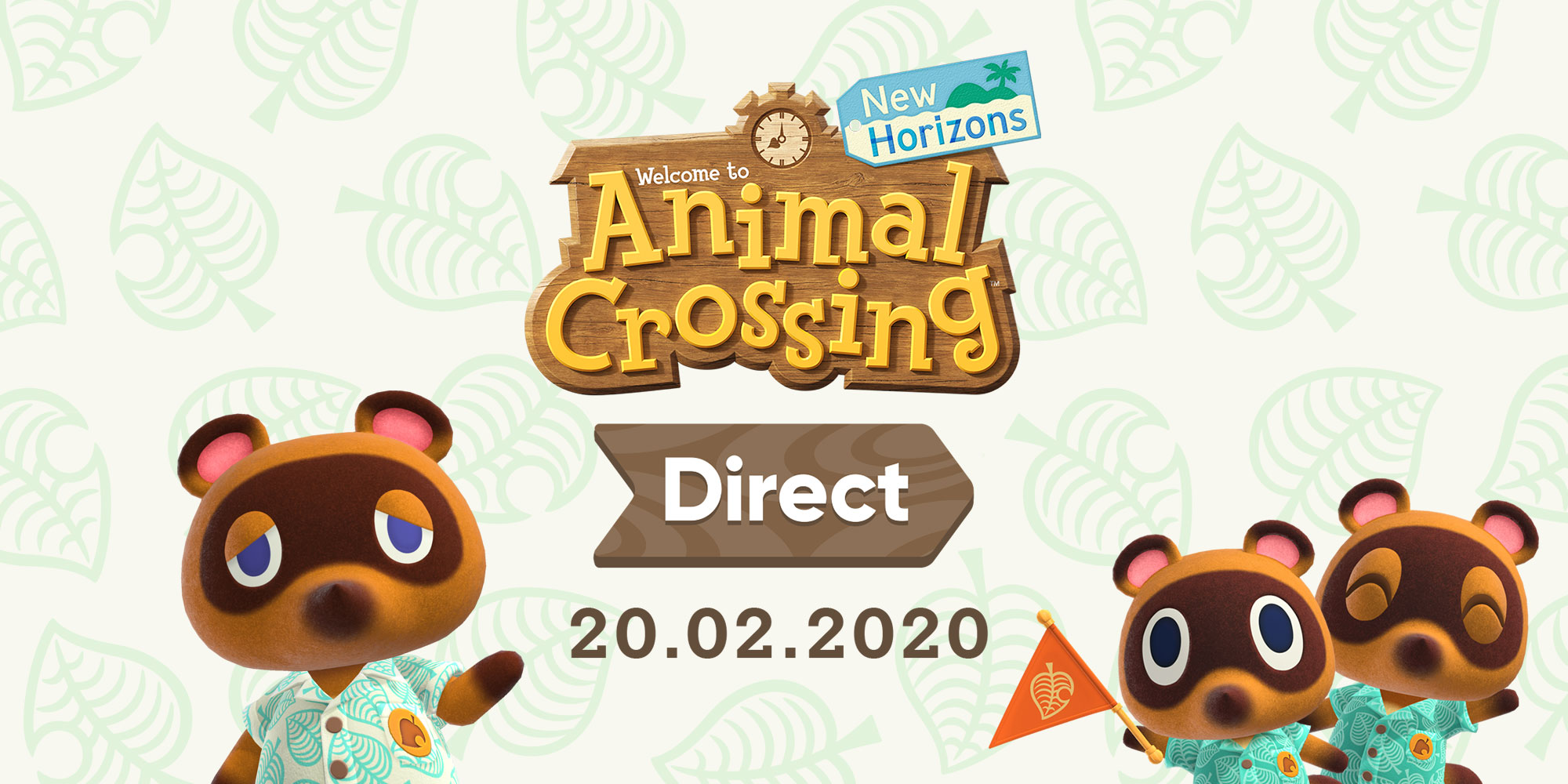 Презентация Animal Crossing: New Horizons Direct пройдет 20 февраля!