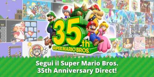 Guarda subito il Super Mario Bros. 35th Anniversary Direct!
