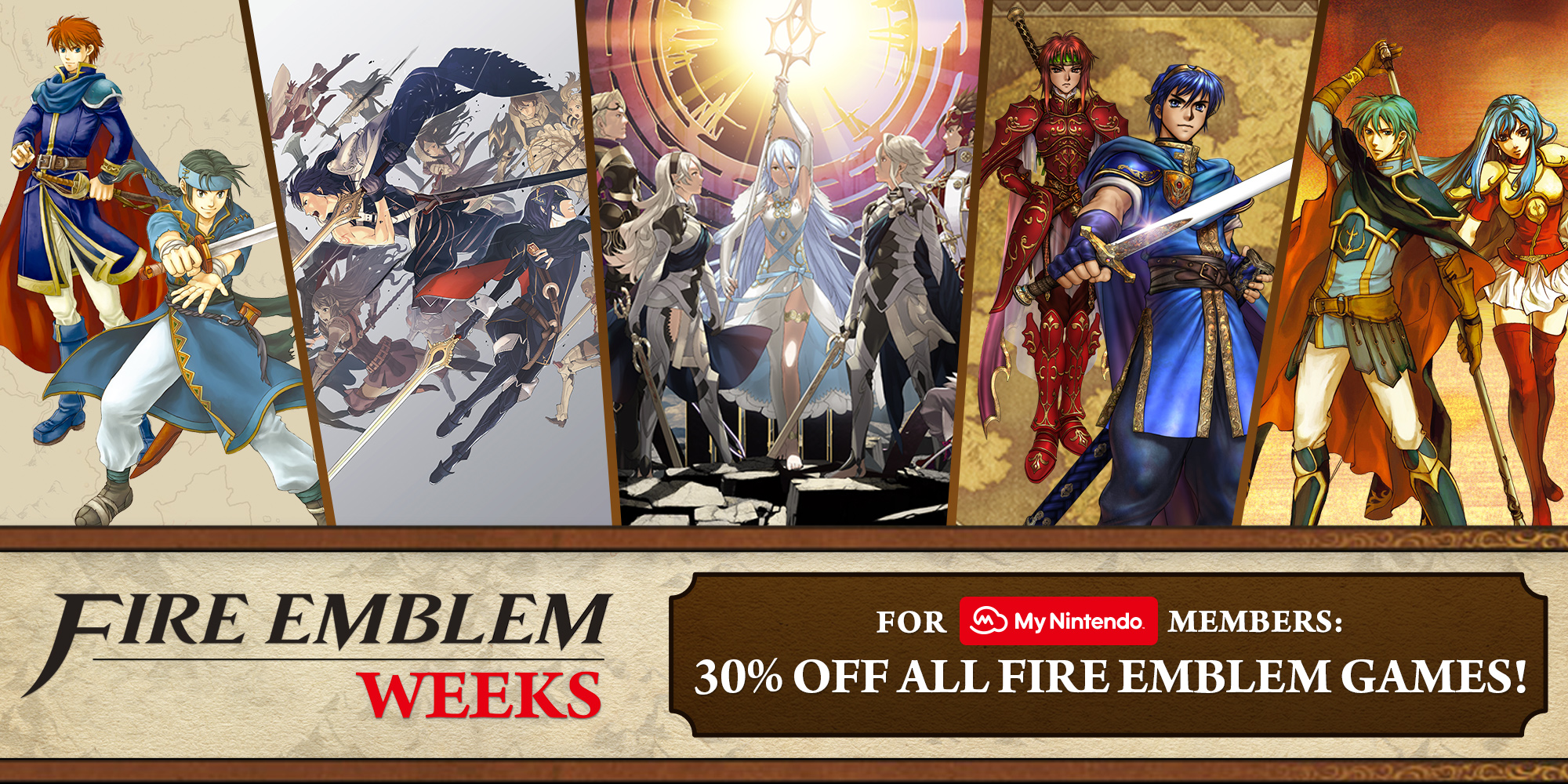 Nintendo eShop sale: Fire Emblem Weeks 2017 Sale