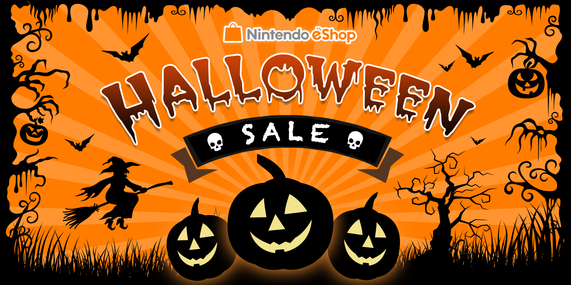 nintendo eshop sale: halloween sale | news | nintendo