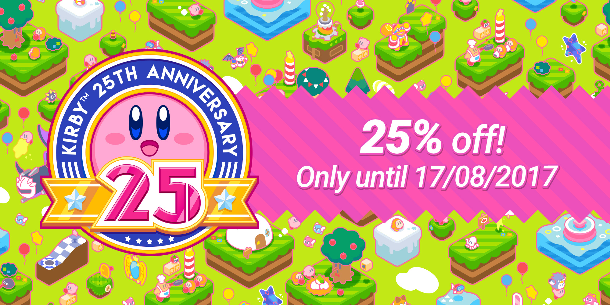 Nintendo eShop sale: Kirby 25th Anniversary Sale