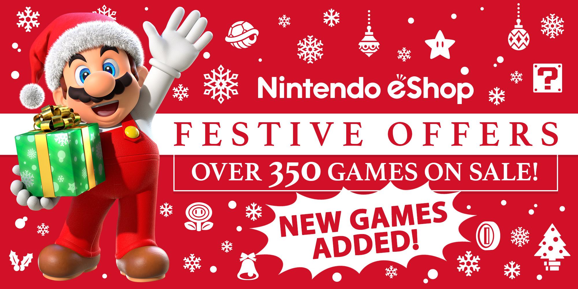 Nintendo eShop sale: Festive Offers 2017 | News | Nintendo