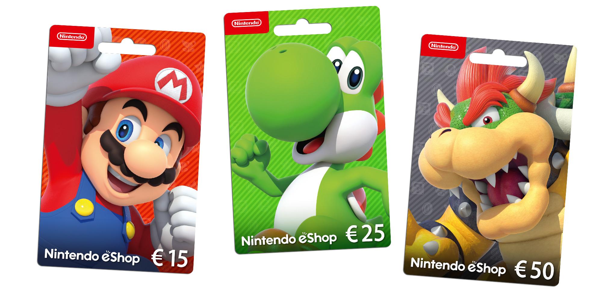 Nintendo Eshop Karte Code.Nintendo Eshop Cards Nintendo 3ds Nintendo