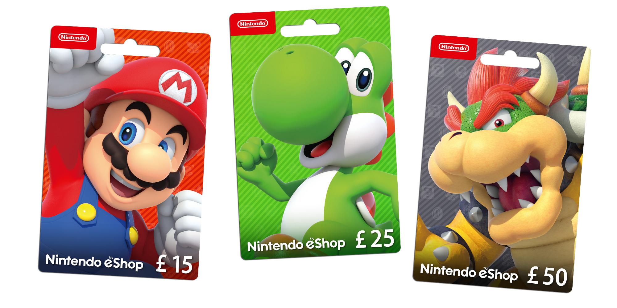 Nintendo eShop Cards | Nintendo 3DS Family | Nintendo