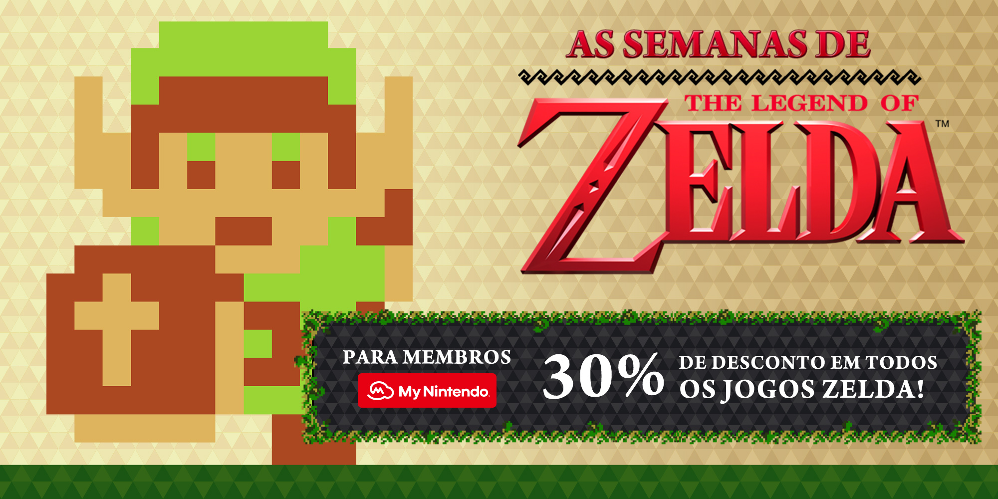 Não percas as Semanas The Legend of Zelda na Nintendo eShop!